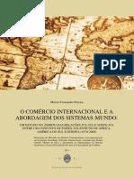 Dissertação (O comércio internacional e a abordagem dos sistemas-mundo)