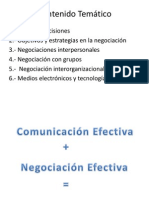 Comunicacion y Negociacion 5.1 y 5.4