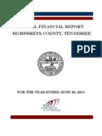 2011 Humphreys County Comptroller Report