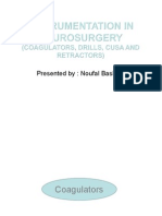 Instrumentation in Neurosurgery