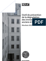 PARIS prevention de la dégradation des immeubles anciens 2012