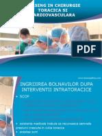 Nursing in Chirurgie Toracica Si Cardiovasculara