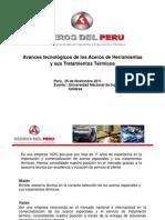 5- Avances tecnológicos de los Aceros de Herramientas y sus tratamientos térmicos