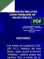 DIABETES MELLITUS COMO PROBLEMA DE SALUD PÚBLICA