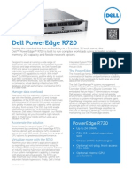 Dell Poweredge r720 Spec Sheet