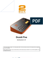 DrumIt Five Manual 1 2x Eng