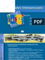 Habilidades Interpessoais2012