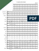 IV Hacia Un Lugar - Score