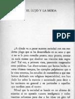 El Lujo y La Moda Orrego de Uribe