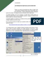 Como Modificar Permisos de Objetos de Active Directory