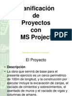 Planeacion Con MS Project