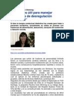 Entrevista Dra. Corsi por Terapia Conductual Dialéctica