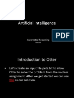 Artificial Intelligence - Unification Theory