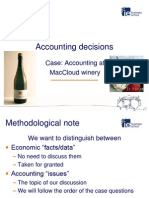 Accounting Decissions