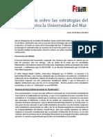 [FEUDEM] Estrategias del Estado contra de la Universidad del Mar.docx