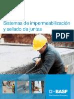 Sistema Impermeabilizacion Sellado Juntas