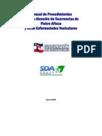 Manual de Procedimientos para la Atencion de Ocurrencias de Fiebre Aftosa y otras E.V.