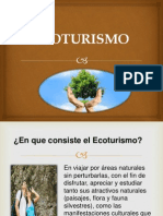 Ecoturismo . Terminado