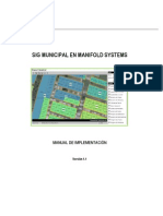 Manual de Manifold GIS para municipalidades