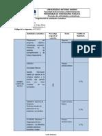 Acuerdos pedagogicos y evaluaciones 1er semestre  Administración III 2013