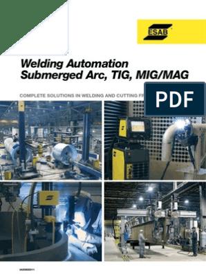 Automatizacija ESAB pdf | Cable | Welding