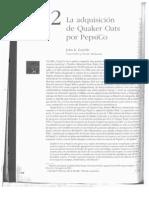 La adquisición de Quaker Oats por PepsiCo
