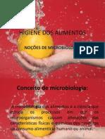 Higiene Dos Alimentos-microbiologia
