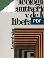 Boff Leonardo - Teologia Del Cautiverio Y de La Liberacion