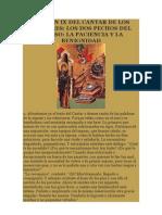 SERMÓN IX DEL CANTAR DE LOS CANTARES