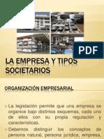 La Empresa y Tipos Societarios