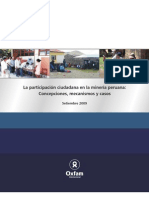 InformeParticipacionMineraOxfam2009