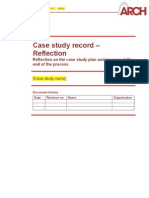 130320 ARCH Case Study Record Reflection Final