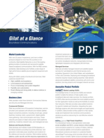 Gilat at a Glance Brochure 2012-08-16