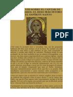 SERMÓN VIII SOBRE EL CANTAR DE LOS CANTARES