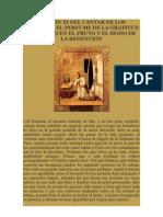 SERMÓN XI DEL CANTAR DE LOS CANTARES