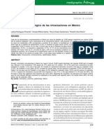 Panorama epidemiológico de las intoxicaciones en México