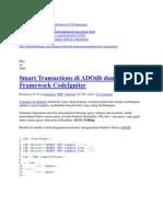 Transaksi Database Di Ci