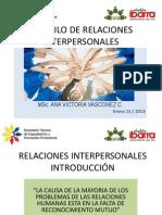 PRESENTACION RELACIONES INTERPERSONALES
