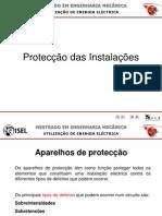 UEE 1011 1ºS Protecção das Instalações
