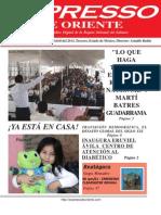 Expresso de Oriente 15 de Abril Del 2013