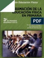 Programacion de La E.F. en Primaria 3er Grado