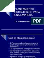 Planeamiento Estrategico Para Una Empresa