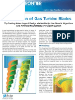 Optimization of Gas Turbine Blades