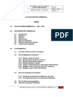 Plan de Gestion Ambiental c. Jmc. Ltda. 2011