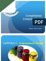 03 - CC - Ordenamiento Simple