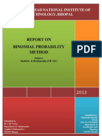 Report Binomial Method