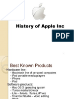 Apple Technology History