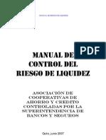 Manual de Riesgo de Liquidez Modelo