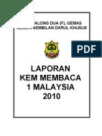 Laporan Program Kem Membaca 1 Malaysia