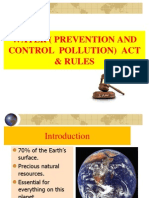 4.. Water ( Pollution and Prevention of Pollution) Act and Rules